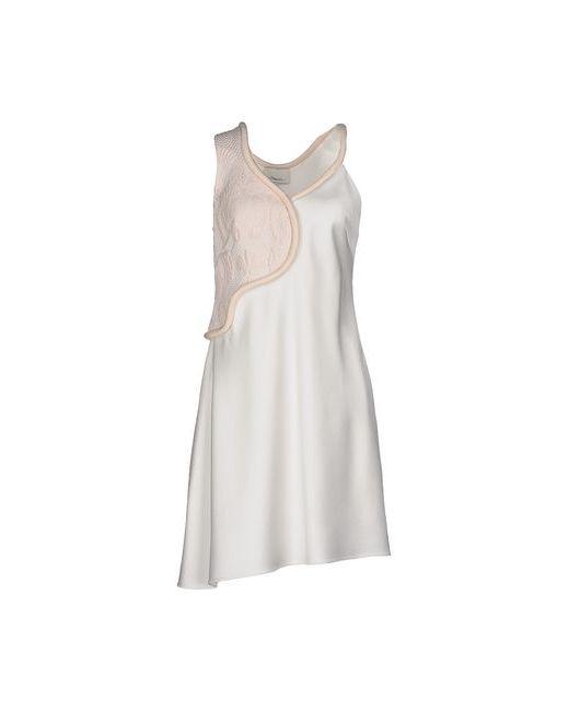 3.1 Phillip Lim | Женское Слоновая Костящее Короткое Платье