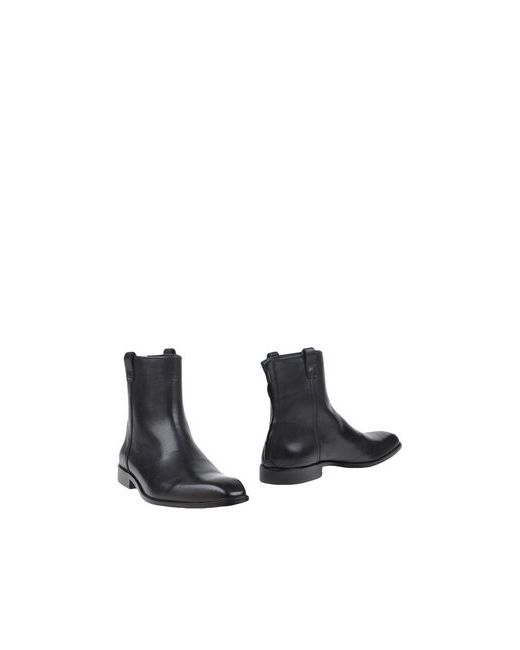 Galliano | Мужские Чёрные Полусапоги И Высокие Ботинки