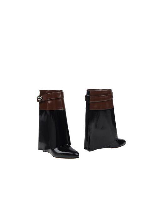 Givenchy   Женские Чёрные Полусапоги И Высокие Ботинки