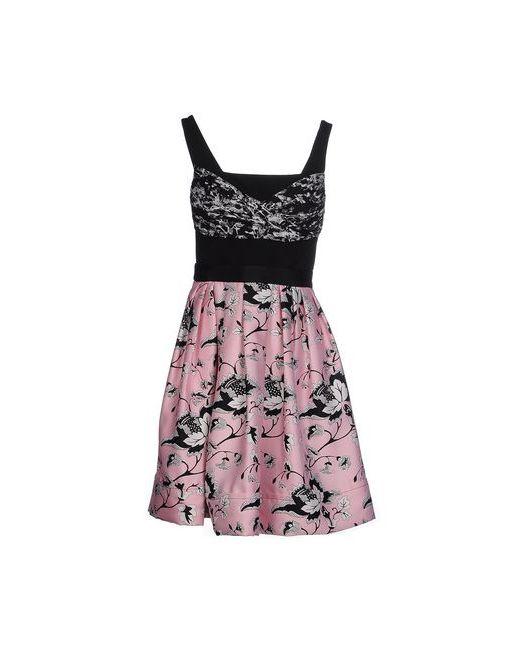 Diane Von Furstenberg | Женское Розовое Короткое Платье