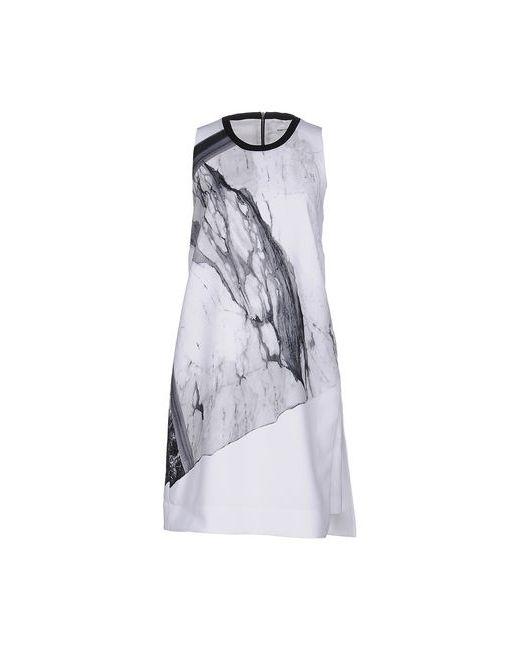 Helmut Lang | Женское Белое Короткое Платье