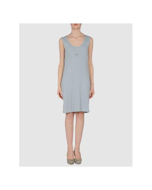 Le Phare De La Baleine   Женское Голубое Короткое Платье