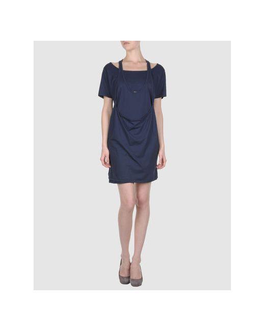 4Giveness | Женское Синее Короткое Платье