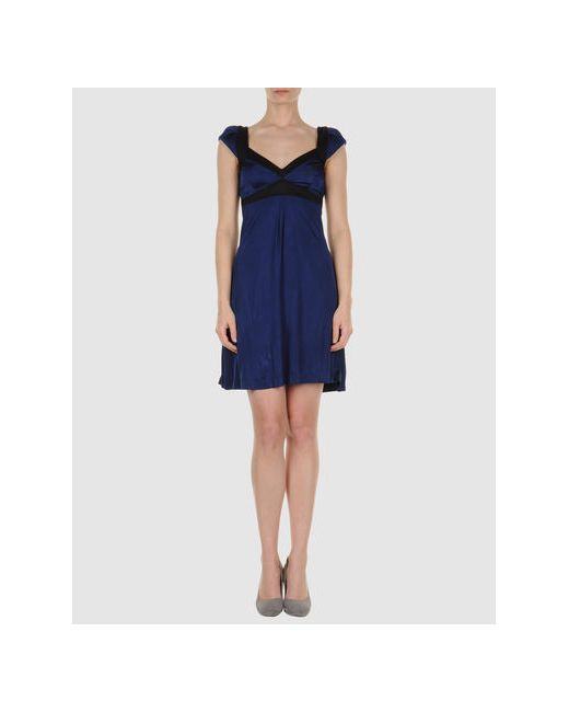 Miss Sixty | Женское Синее Короткое Платье