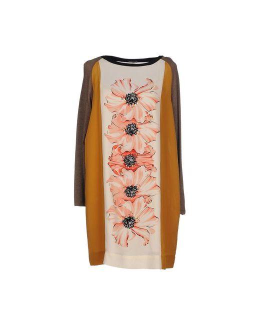 Hoss Intropia | Женское Охра Короткое Платье