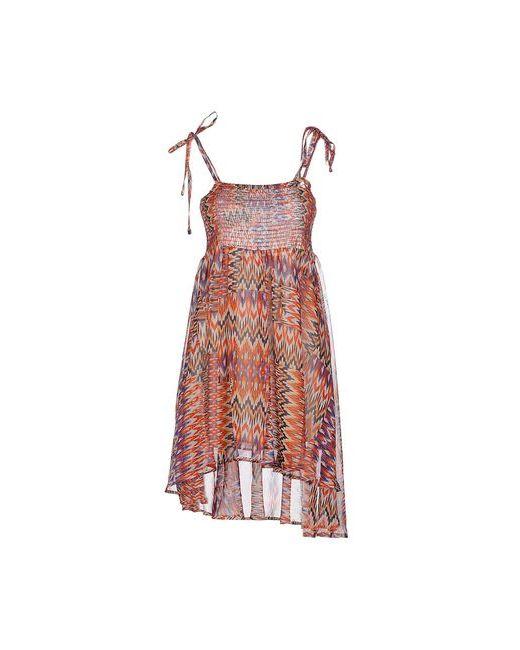 Gj Gaudi' Jeans | Женское Красное Короткое Платье