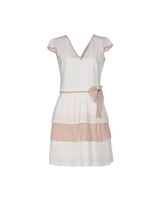 Eureka   Женское Белое Короткое Платье