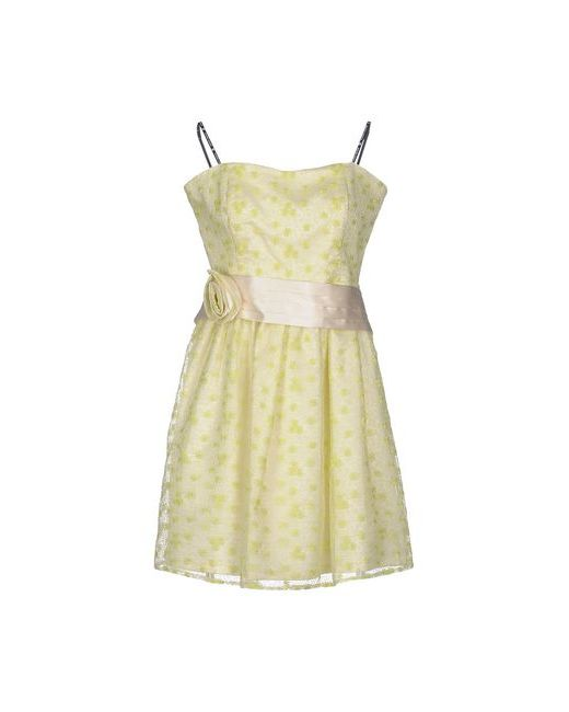 MONCHO HEREDIA | Женское Зелёное Короткое Платье