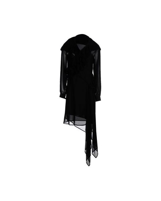 Mcq Alexander Mcqueen | Женское Чёрное Платье До Колена