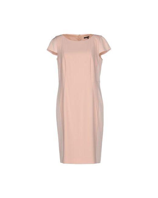 Luisa Cerano | Женское Розовое Короткое Платье