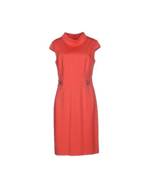 Blugirl Blumarine | Женское Розовое Платье До Колена