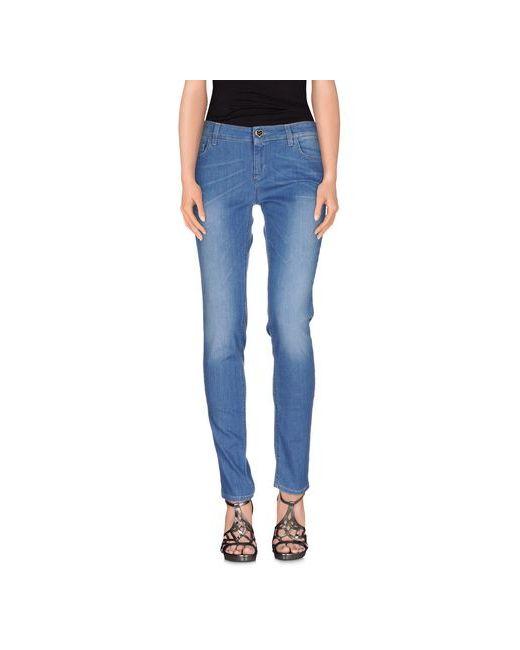 Twin-Set Jeans   Женские Синие Джинсовые Брюки