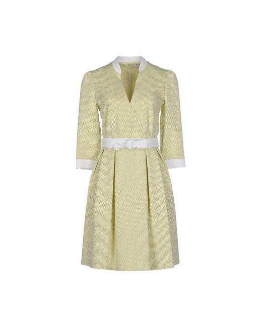 Axara Paris   Женское Зелёное Короткое Платье