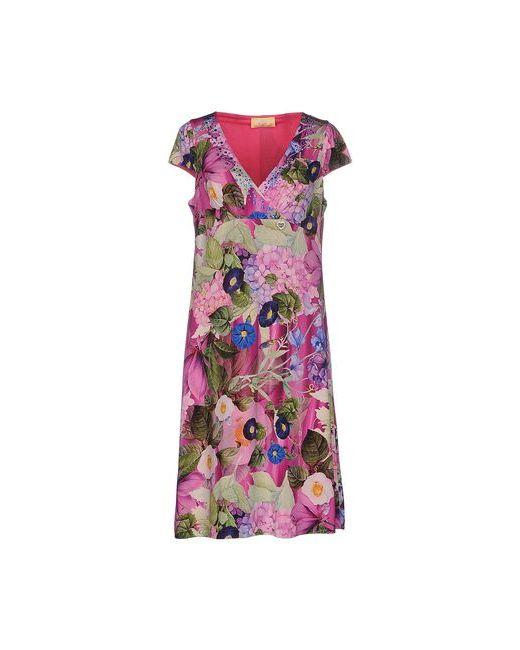Ean 13   Женское Фуксия Платье До Колена