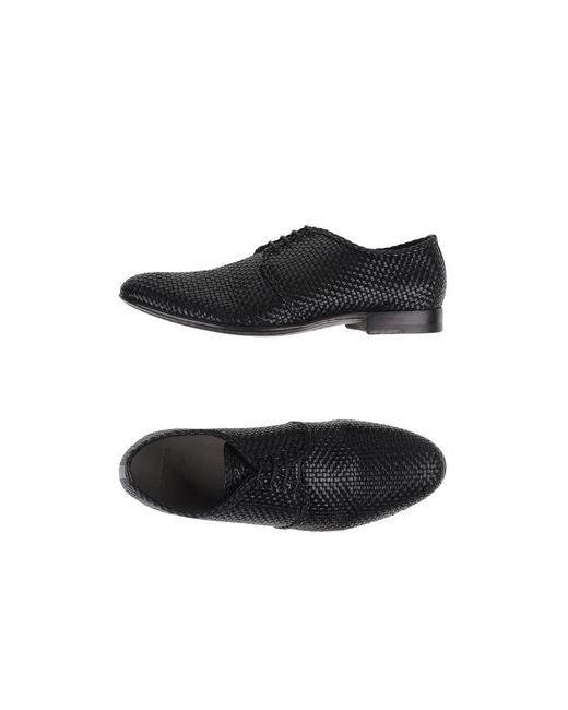 Sartori Gold | Мужская Чёрная Обувь На Шнурках