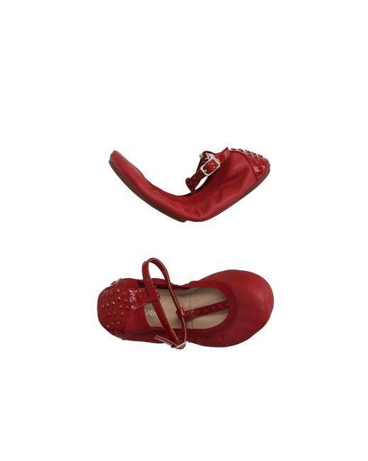 Yosi Samra | Женские Красные Балетки