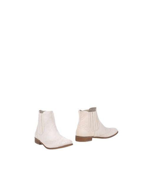 Formentini | Женские Слоновая Кости Полусапоги И Высокие Ботинки