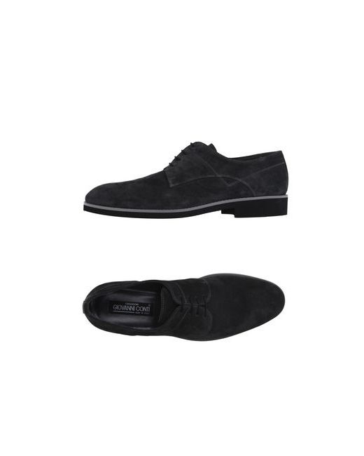 Gianni Conti | Мужская Серая Обувь На Шнурках