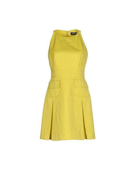 List | Женское Жёлтое Короткое Платье