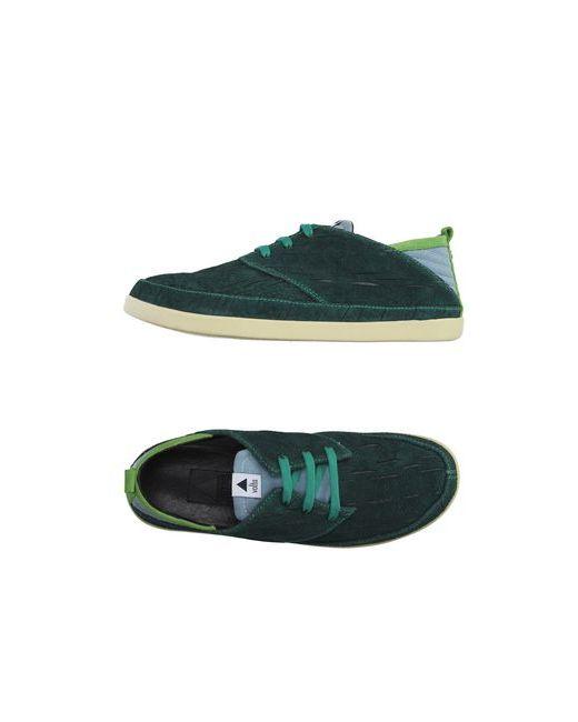 Volta | Мужская Зелёная Обувь На Шнурках