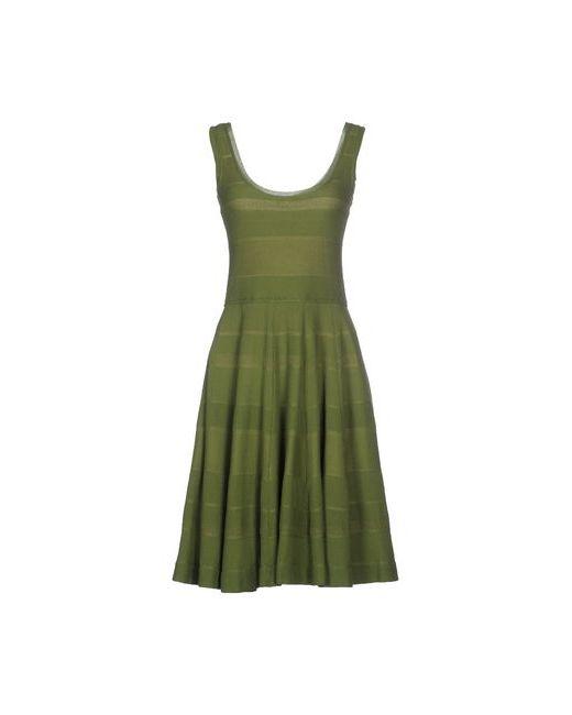 Dsquared2 | Женское Зелёное Платье До Колена