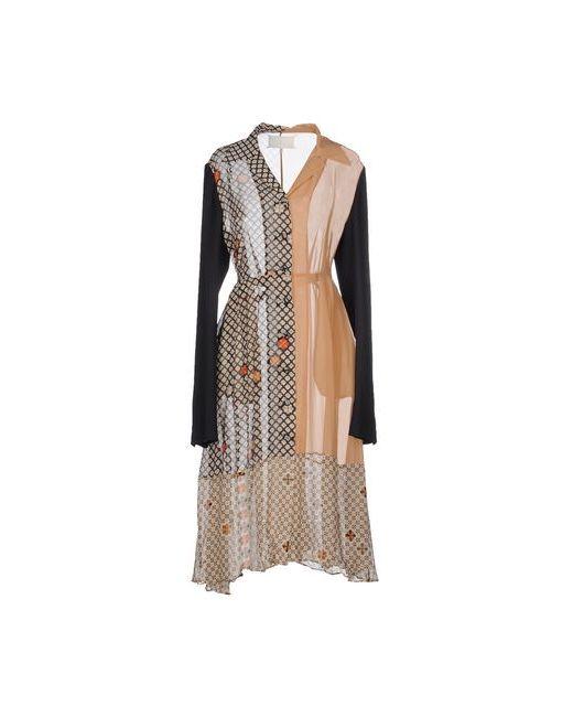 Maison Margiela   Женское Песочное Платье До Колена