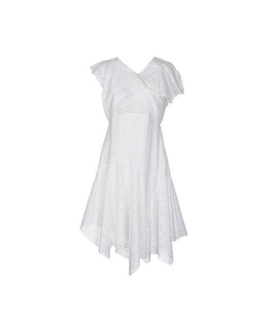 Isabel Marant   Женское Белое Платье До Колена