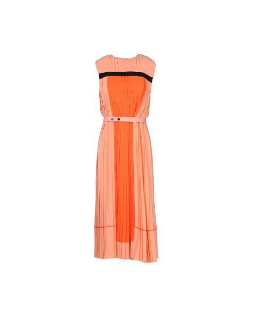 Victoria Beckham | Женское Оранжевое Короткое Платье