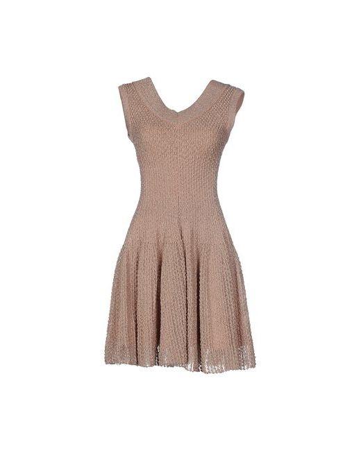 Alaïa   Женское Коричневое Короткое Платье