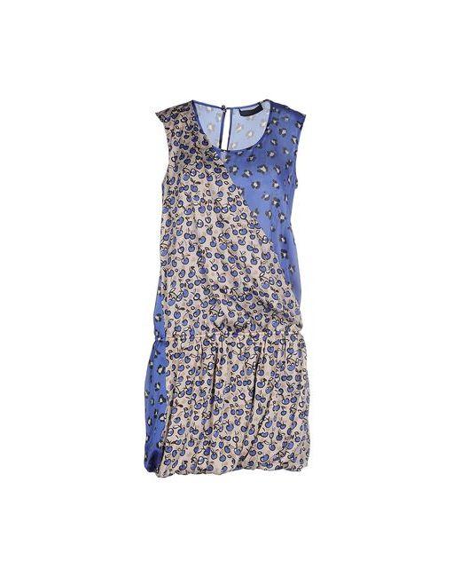 Tru Trussardi   Женское Синее Короткое Платье