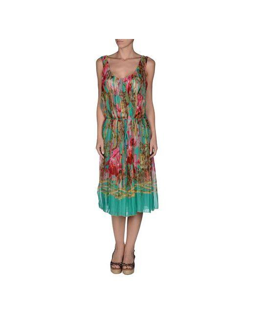Vdp Beach   Женское Зелёное Пляжное Платье
