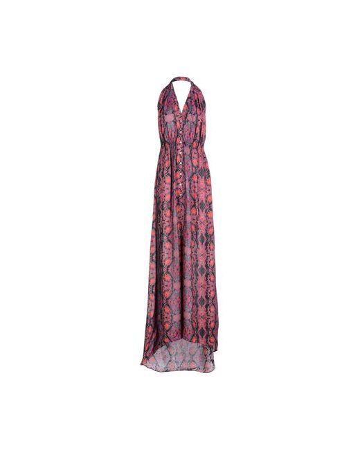 SuperTrash   Женское Фиолетовое Длинное Платье