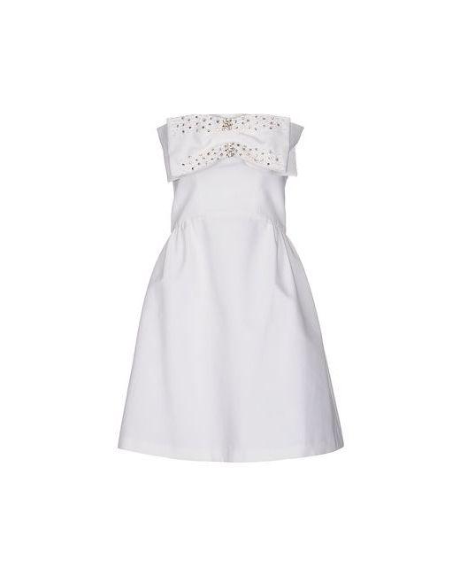 Blugirl Blumarine   Женское Белое Короткое Платье