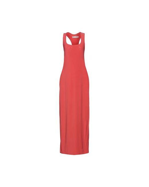 T-Bags LosAngeles | Женское Розовое Длинное Платье