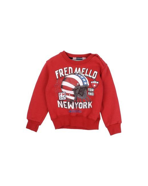 Fred Mello | Мужская Красная Толстовка