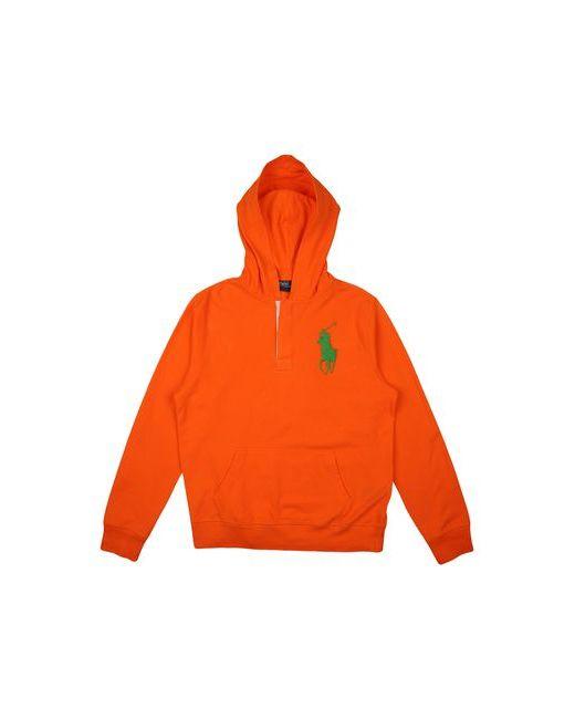 Ralph Lauren | Мужская Оранжевая Толстовка