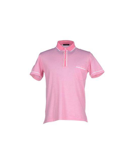 Gran Sasso   Мужское Розовое Поло