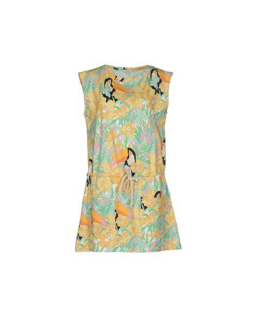 Manoush | Женское Жёлтое Короткое Платье