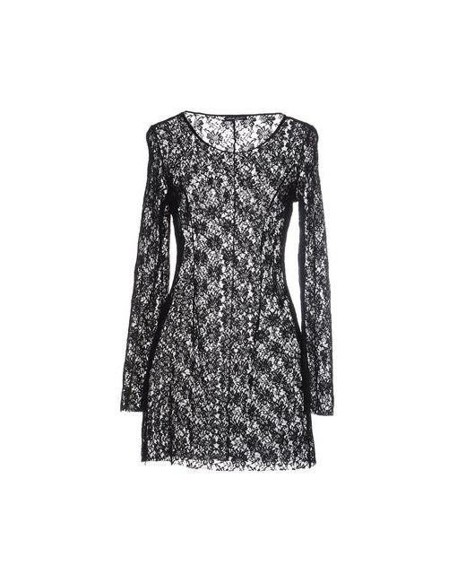 MNML COUTURE | Женское Чёрное Короткое Платье