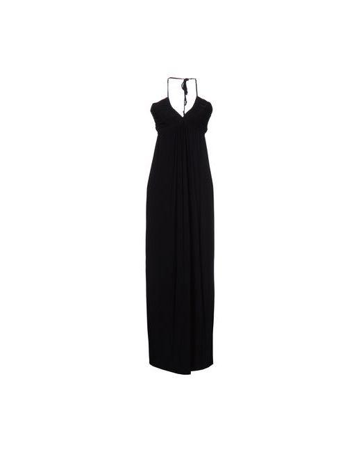 T-Bags LosAngeles | Женское Чёрное Длинное Платье