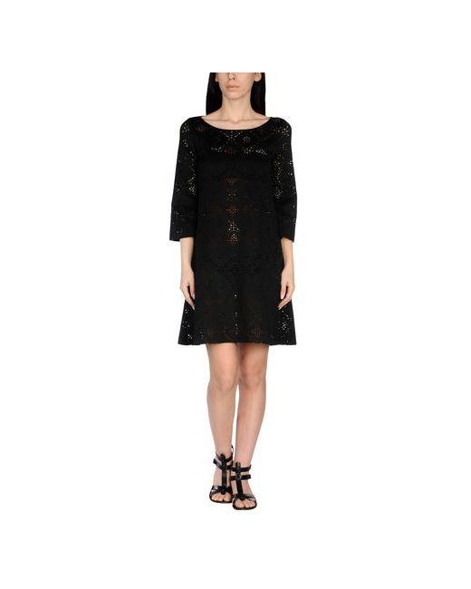 Fisico-Beach Couture   Женское Чёрное Пляжное Платье