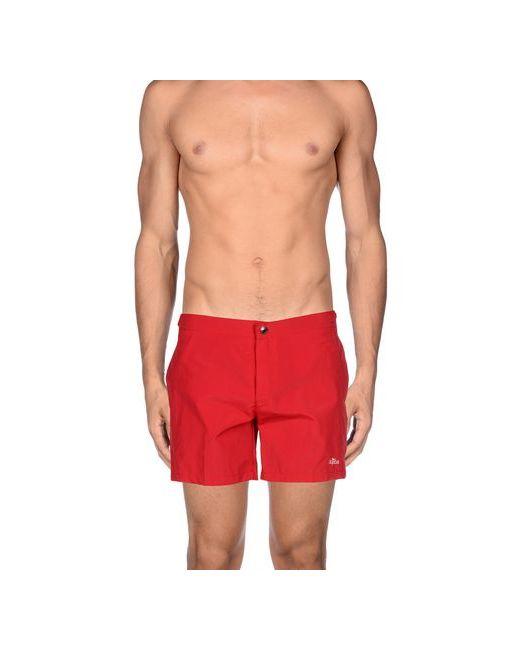 ÀQABA | Мужские Красные Шорты Для Плавания