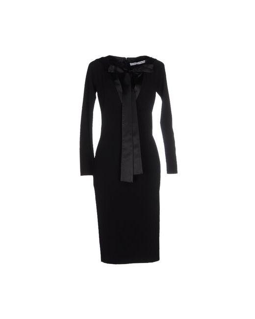 Givenchy   Женское Чёрное Платье До Колена