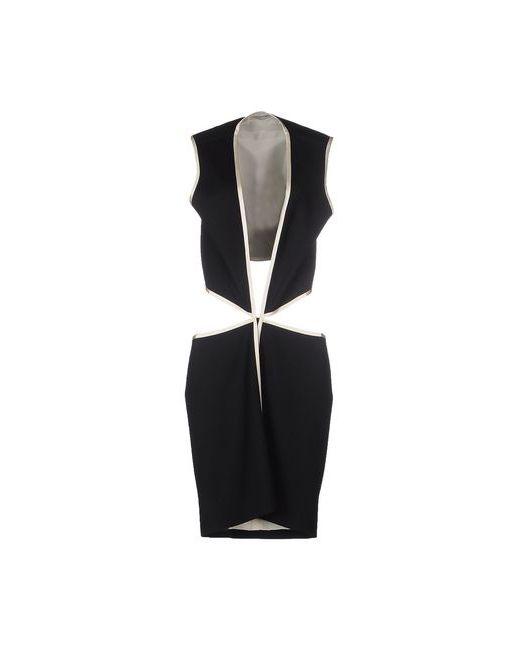 Bouchra Jarrar   Женское Чёрное Короткое Платье