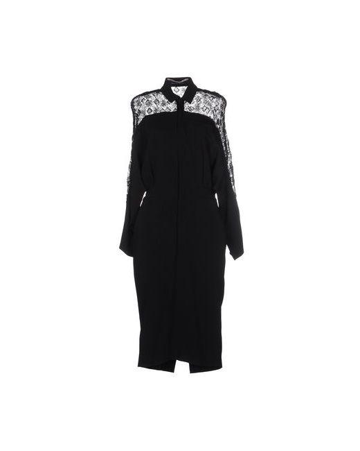 Roland Mouret | Женское Чёрное Платье До Колена