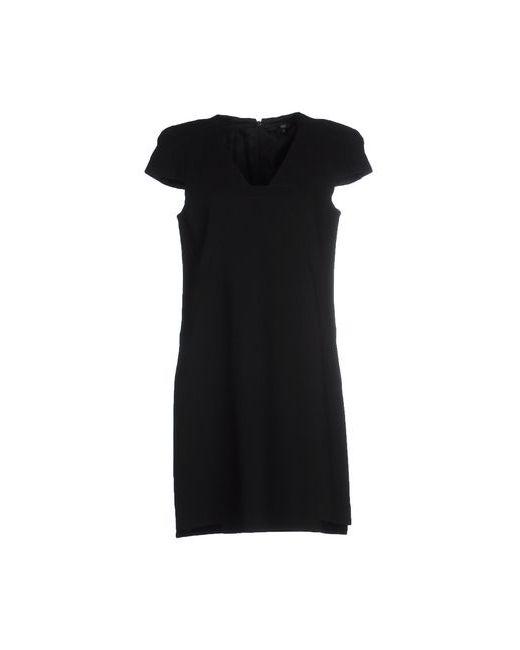 Tibi | Женское Чёрное Короткое Платье