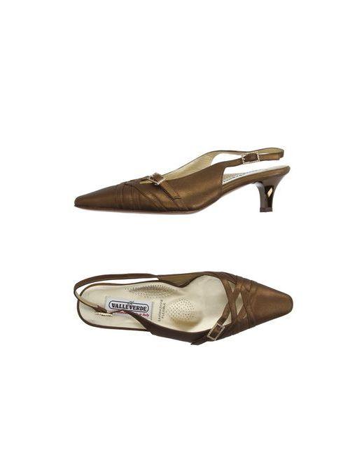 Valleverde | Женские Бронзовые Туфли