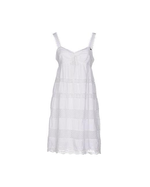 Ajay | Женское Белое Короткое Платье