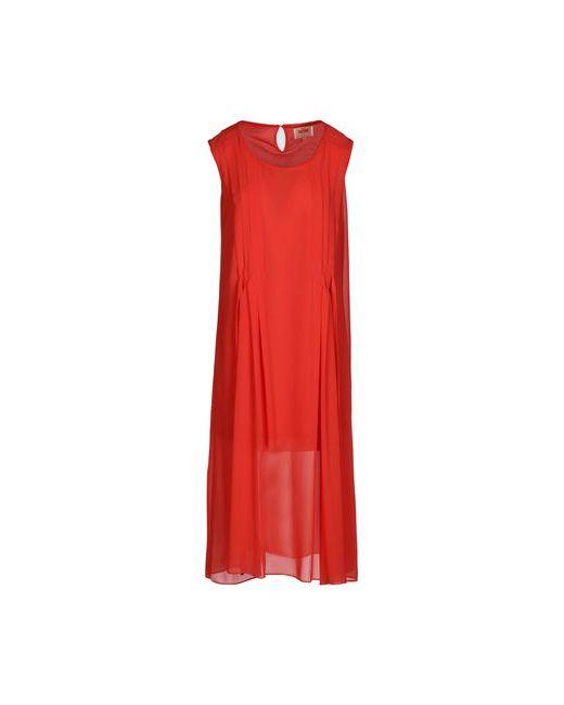 Orion London | Женское Красное Платье До Колена