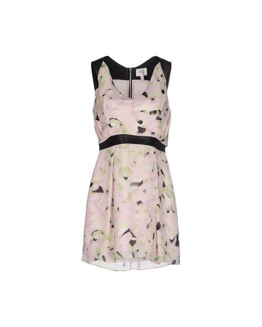 Milly | Женское Розовое Короткое Платье